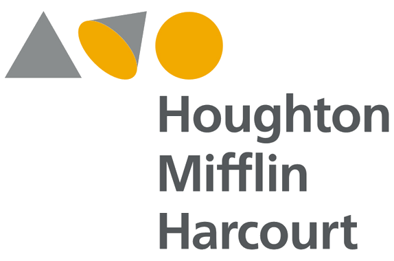 The logo of the publishing company Houghton Mifflin Harcourt. Credit: Wikimedia Commons.