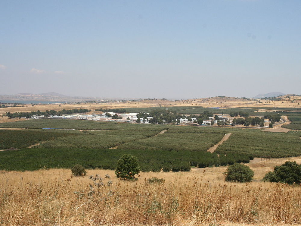 A UNDOF base near the Syrian-Israeli border in the Golan Heights. Credit: Wikimedia Commons.
