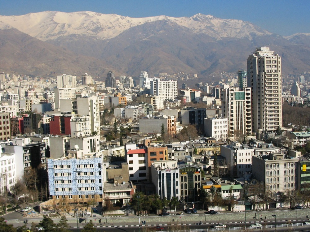Tehran. Credit: Wikimedia Commons.