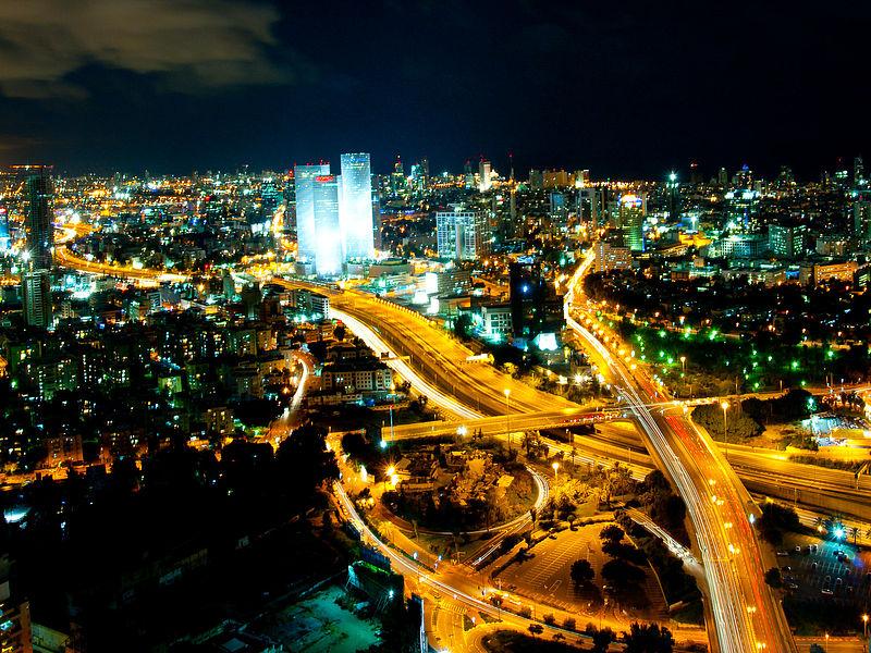 Tel Aviv. Credit: Gilad Avidan via Wikimedia Commons.