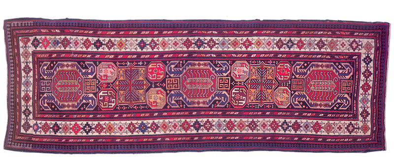 Click photo to download. Caption: A rug from Karabakh. Credit: Courtesy Vugar Dadashov/Azerbaijan Rugs/azerbaijanrugs.com.