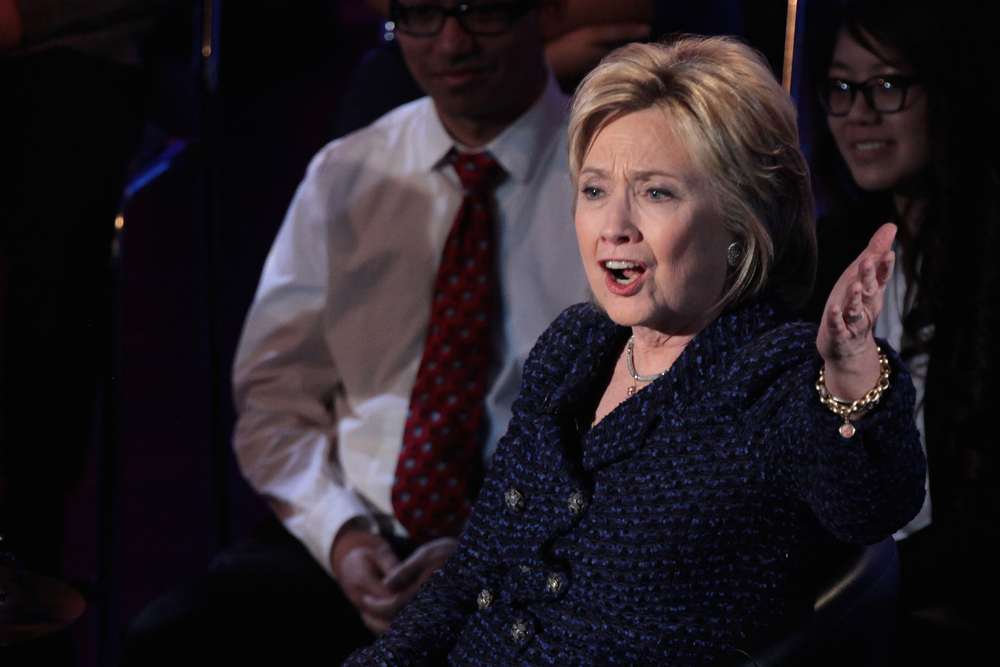 Click photo to download. Caption: Hillary Clinton. Credit: Gage Skidmore via Wikimedia Commons.