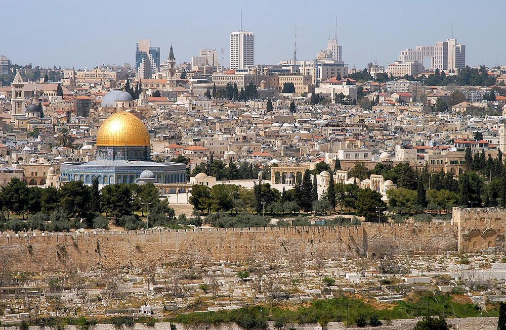 Click photo to download. Caption: A view of Jerusalem. Credit: Wayne McLean via Wikimedia Commons.