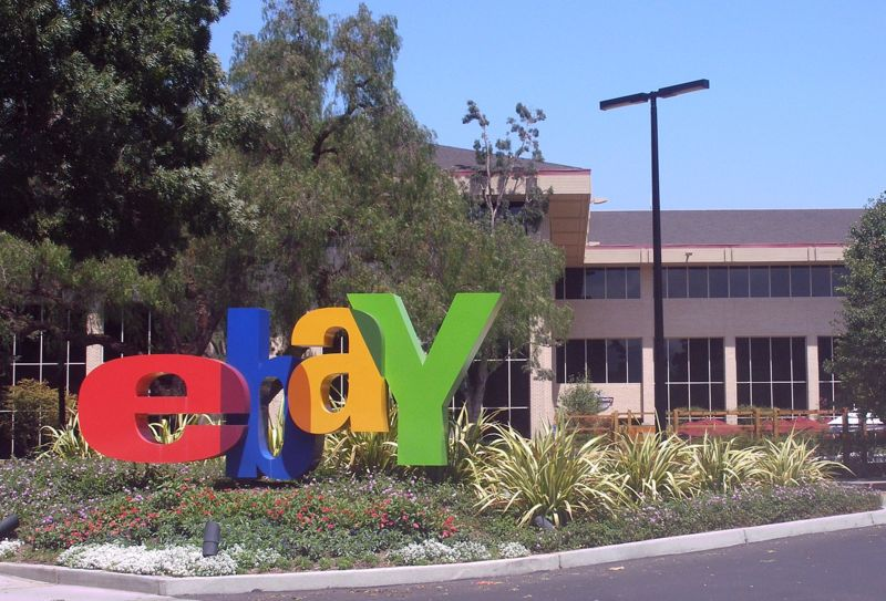 eBay headquarters in San Jose, Calif. Credit: Wikimedia Commons.