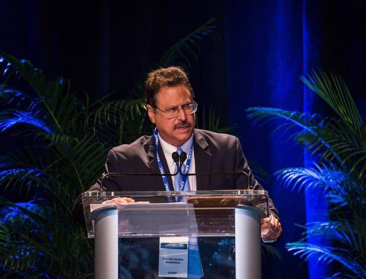 Pastor Mario Bramnick, president of the Hispanic Israel Leadership Coalition (HILC). Credit: HILC via Facebook.