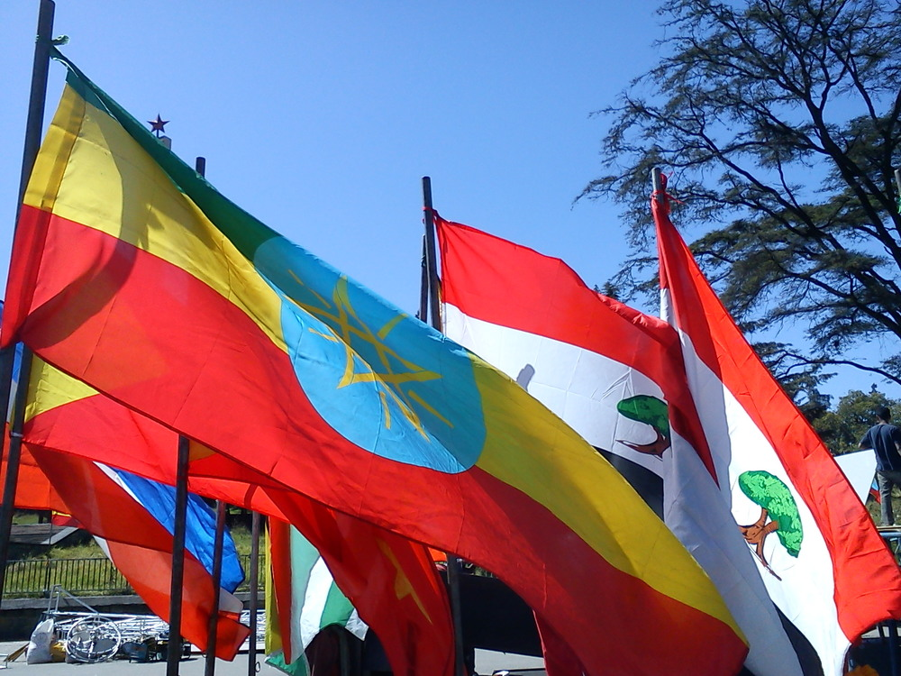The flag of Ethiopia. Credit: Soman via Wikimedia Commons.