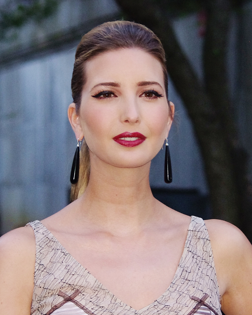 Ivanka Trump, the daughter of U.S. Republican presidential nominee Donald Trump, converted to Judaism under the guidance of Rabbi Haskel Lookstein. Credit: Wikimedia Commons.