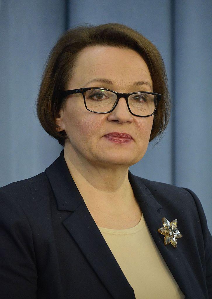 Polish Education Minister Anna Zalewska. Credit: Adrian Grycuk via Wikimedia Commons.