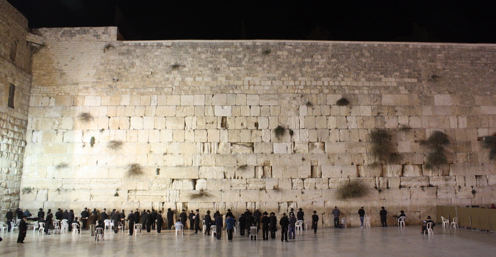 Click photo to download. Caption: The Kotel (Western Wall). Credit: Kyle Taylor via Wikimedia Commons.
