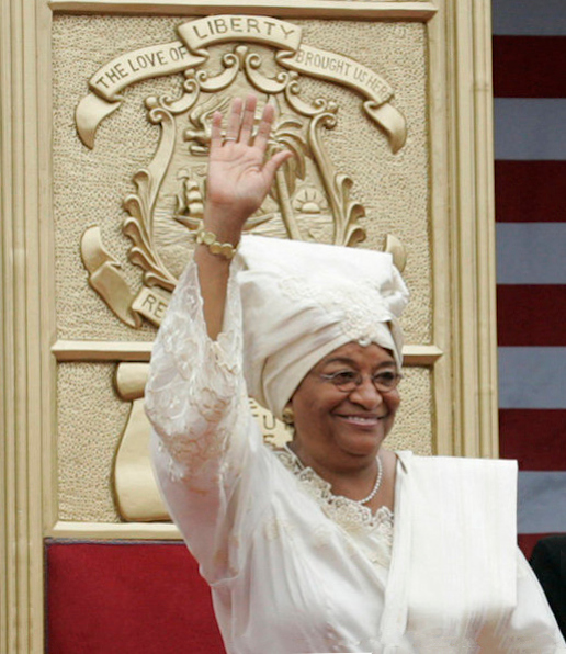Click photo to download. Caption: Liberian President Ellen Johnson Sirleaf. Credit: Shealah Craighead via Wikimedia Commons.