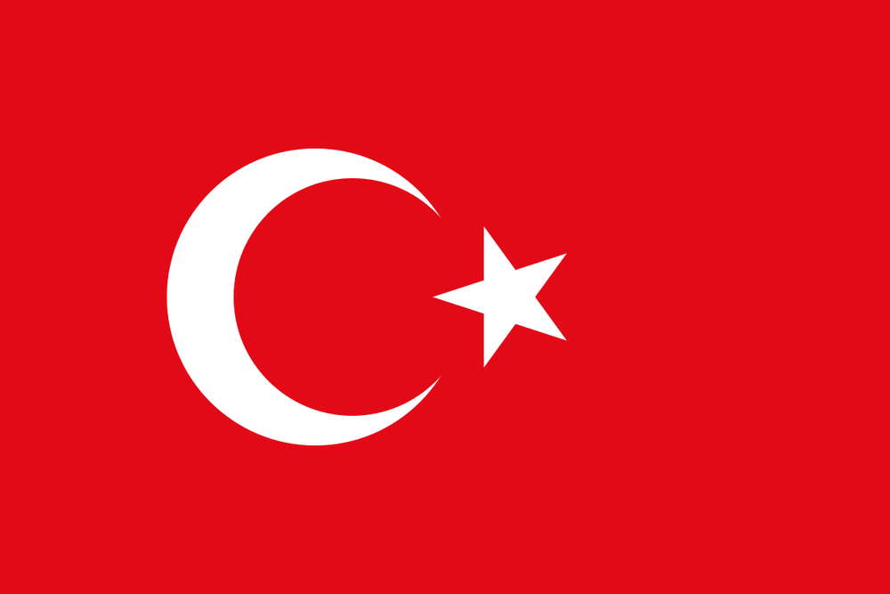 The Turkish flag. Credit: Wikimedia Commons.