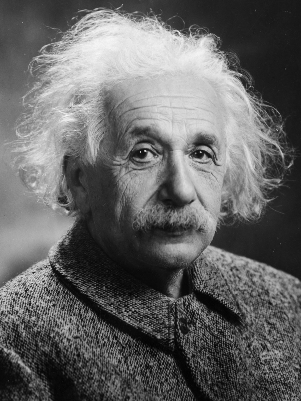Click photo to download. Caption: Albert Einstein in 1947. Credit: Orren Jack Turner via Wikimedia Commons.