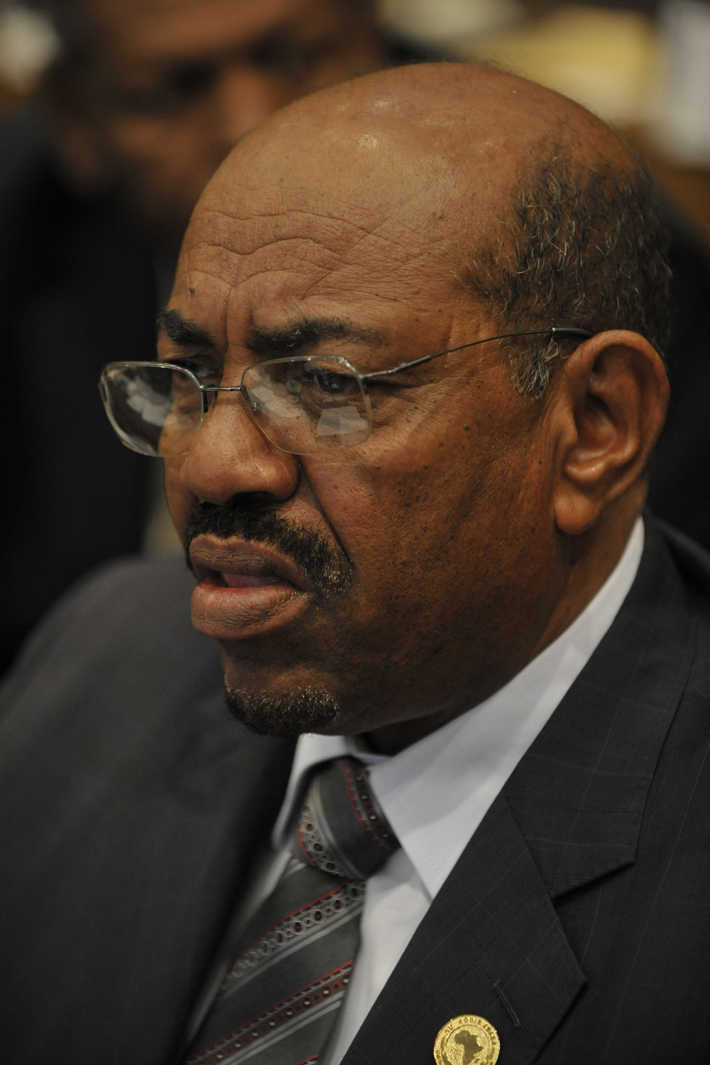 Sudanese President Omar al-Bashir. Credit: U.S. Navy photo by Mass Communication Specialist 2nd Class Jesse B. Awalt via Wikimedia Commons.