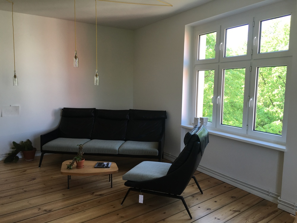 Click photo to download. Caption: This apartment, located on the Fontane Strasse street in Berlin's Neukölln district, has a market value of $465,000 but would have probably sold for half of that amount 10 years ago, according to the Berlin Inspiration real estate company. Credit: Orit Arfa.