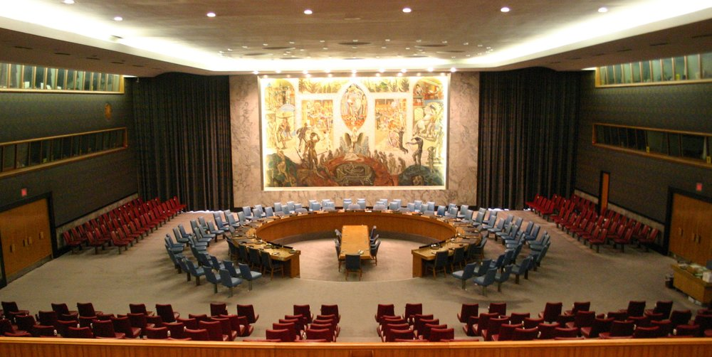 The United Nations Security Council. Credit: Wikimedia Commons.