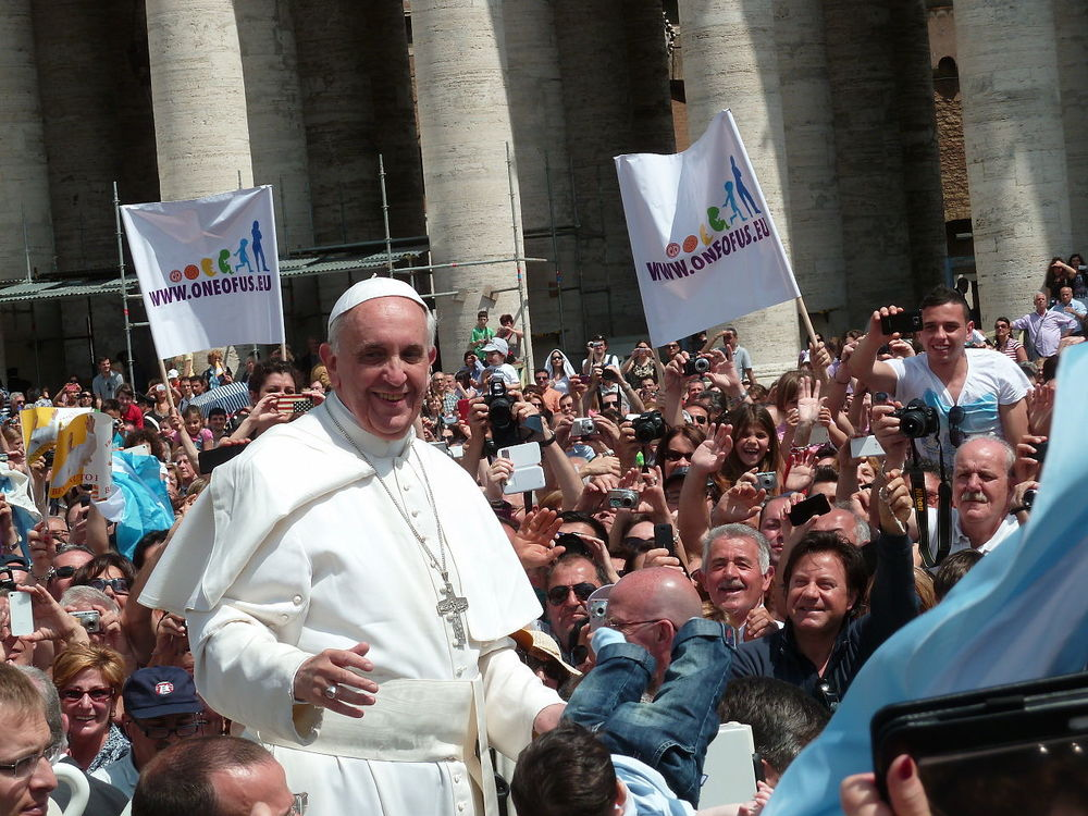 Pope Francis in 2013. Credit: Wikimedia Commons.