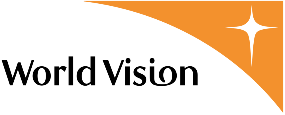 The logo of the World Vision Christian charity. Credit: Wikimedia Commons.