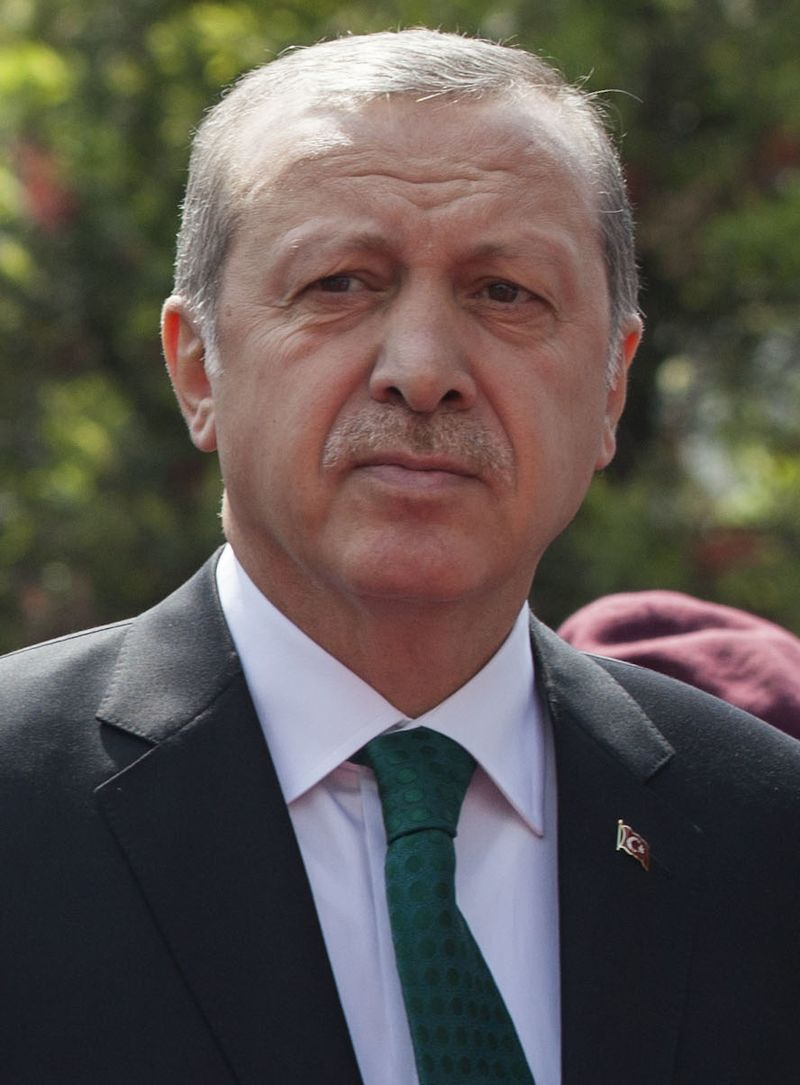Turkish President Recep Tayyip Erdoğan. Credit: Cancillería del Ecuador via Wikimedia Commons.