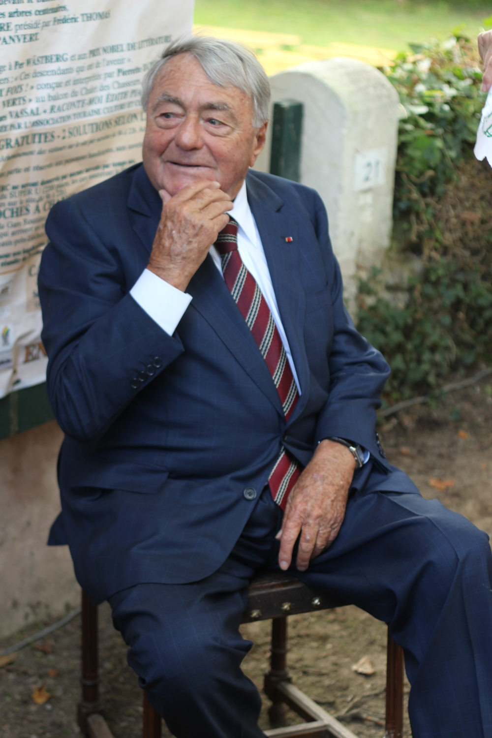 French Jewish filmmaker Claude Lanzmann. Credit: Wikimedia Commons.