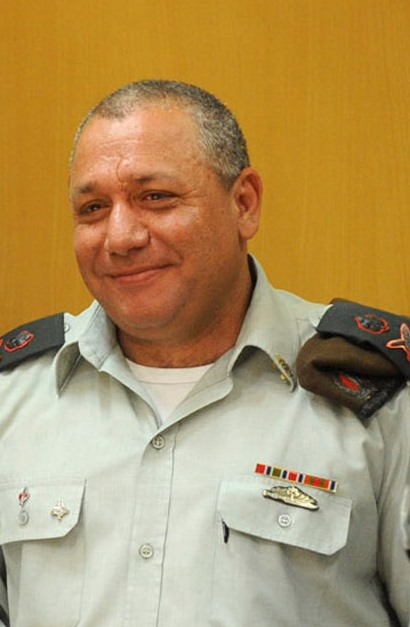 Israel Defense Forces Chief of Staff Lt. Gen. Gadi Eizenkot. Credit: Wikimedia Commons.