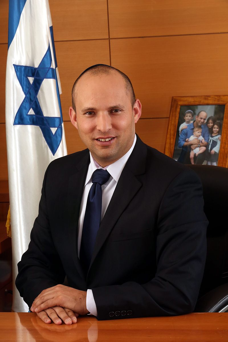 Israeli Education Minister Naftali Bennett. Credit: Wikimedia Commons.