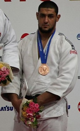 Egyptian judoka Islam El Shahaby in 2010. Credit: Wikimedia Commons.