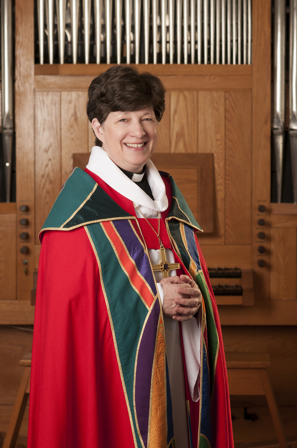 The presiding bishop of the ECLA Rev. Elizabeth A. Eaton. Credit: ECLA.