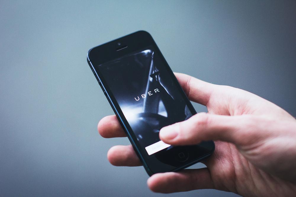 The Uber app. Credit: Freestocks.org via Flickr.