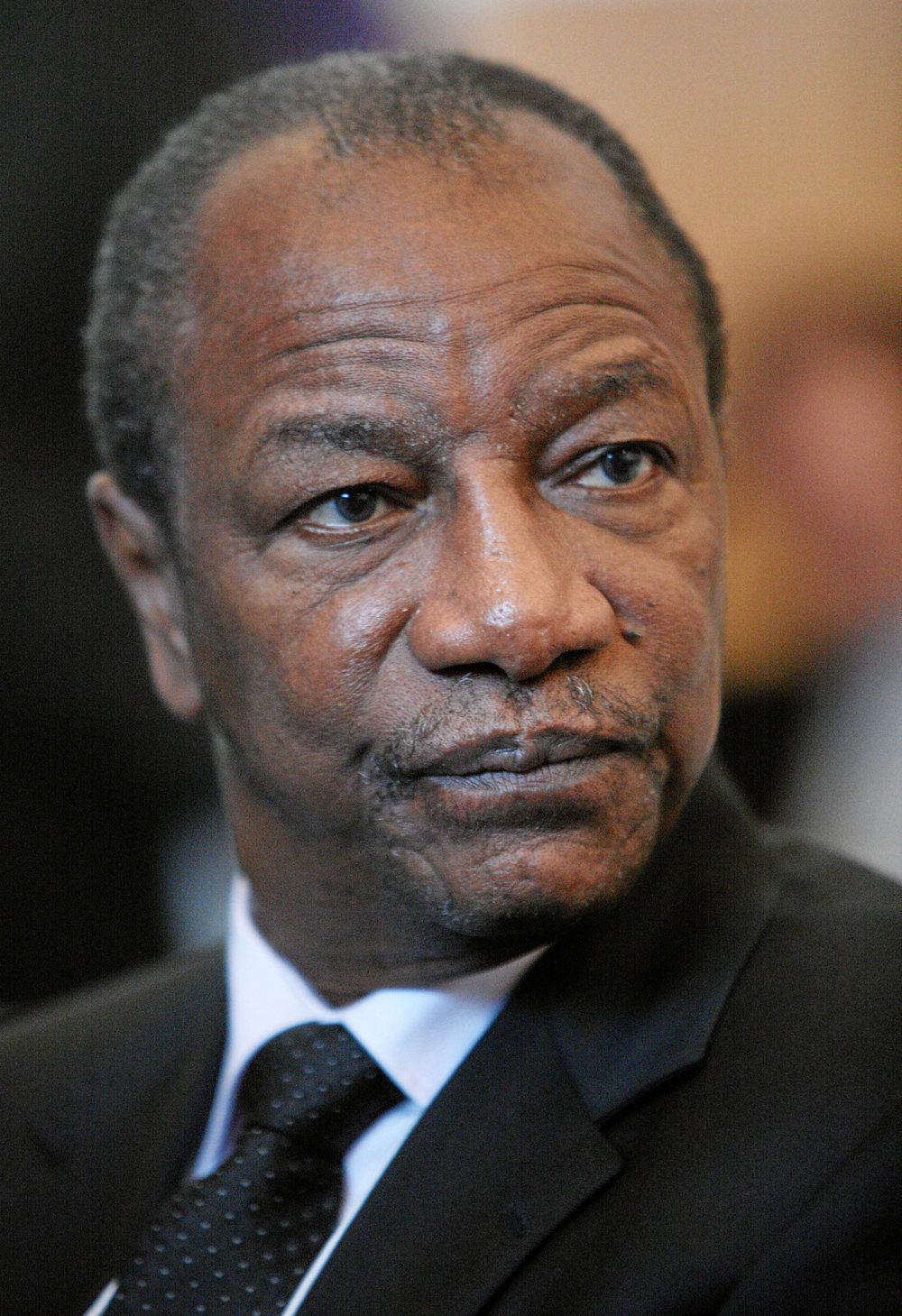 The President of Guinea Alpha Conde. Credit: The World Economic Forum via Wikimedia Commons.