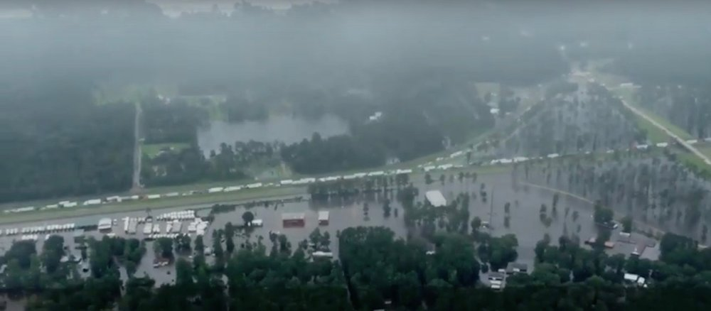 Flooding in Baton Rouge, La. Credit: NOLA via screenshot from YouTube.