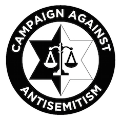 Logo of the Campaign Against Anti-Semitism. Credit: Campaign Against Anti-Semitism.