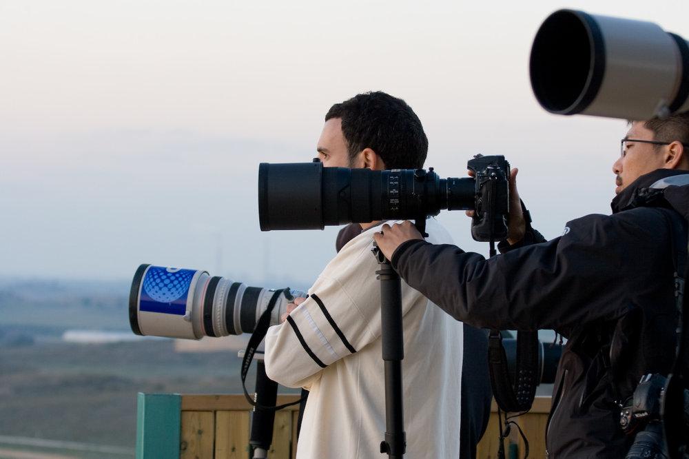 Journalists in Gaza in 2009. Credit:Giorgio Montersino via Wikimedia Commons.