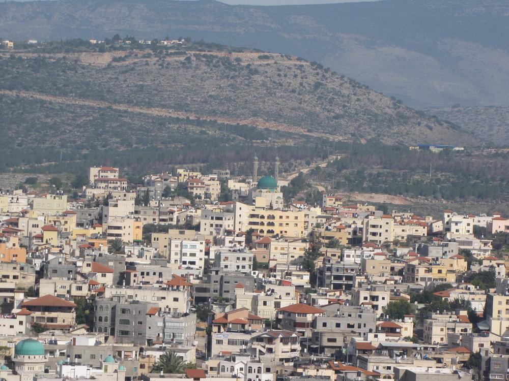 The northern Israeli city of Sakhnin. Credit: Wikimedia Commons.