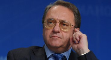 Russian Special Envoy for the Middle East Mikhail Bogdanov. Credit: Wikimedia Commons.
