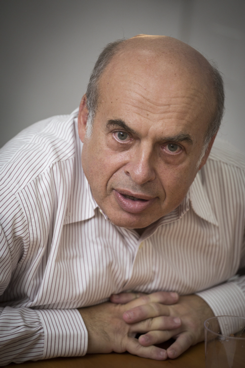 Natan Sharansky, chairman of the Jewish Agency, at his Jerusalem office on Sept. 22, 2014. Credit: Flash90.