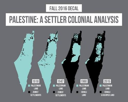 "A flier for The University of California, Berkeley's course titled ""Palestine: A Settler Analysis."" Credit: Facebook."