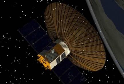 Ofek-11 satellite simulation. Credit: Israel Aerospace Industries