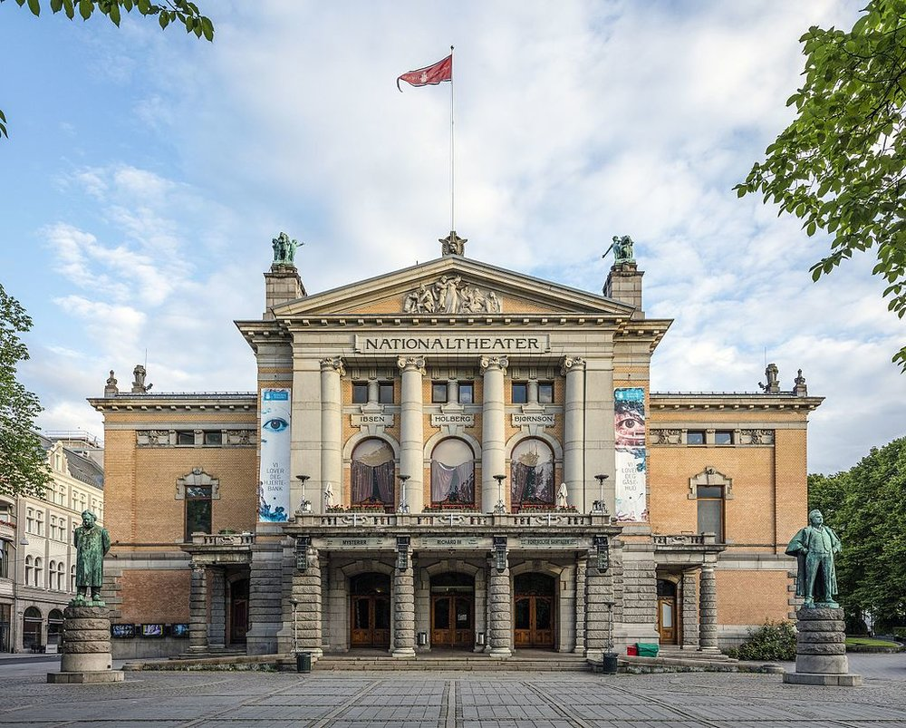 The National Theatre of Norway. Credit: Wikimedia Commons.