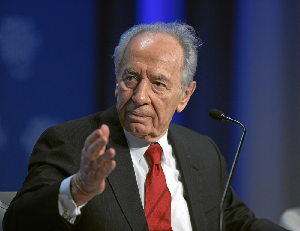 Shimon Peres. Credit: World Economic Forum via Wikimedia Commons.