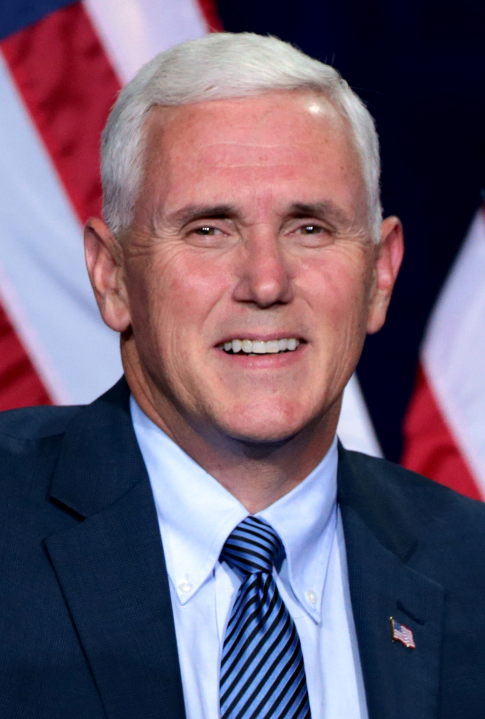 Republican vice presidential nominee Gov. Mike Pence (R-IN). Credit: Wikimedia Commons.