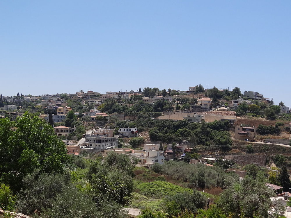 The Druze village of Daliyat al-Karmel in northern Israel. Credit: Wikimedia Commons.