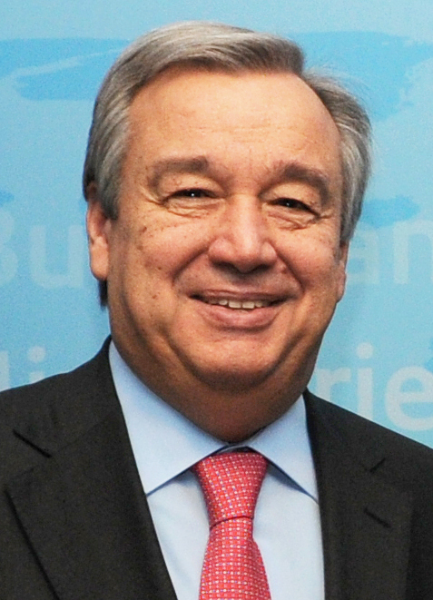 Antonio Guterres. Credit: Wikimedia Commons.