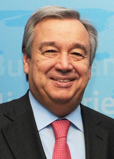 Antonio Guterres. Credit: Wikimedia Commons.