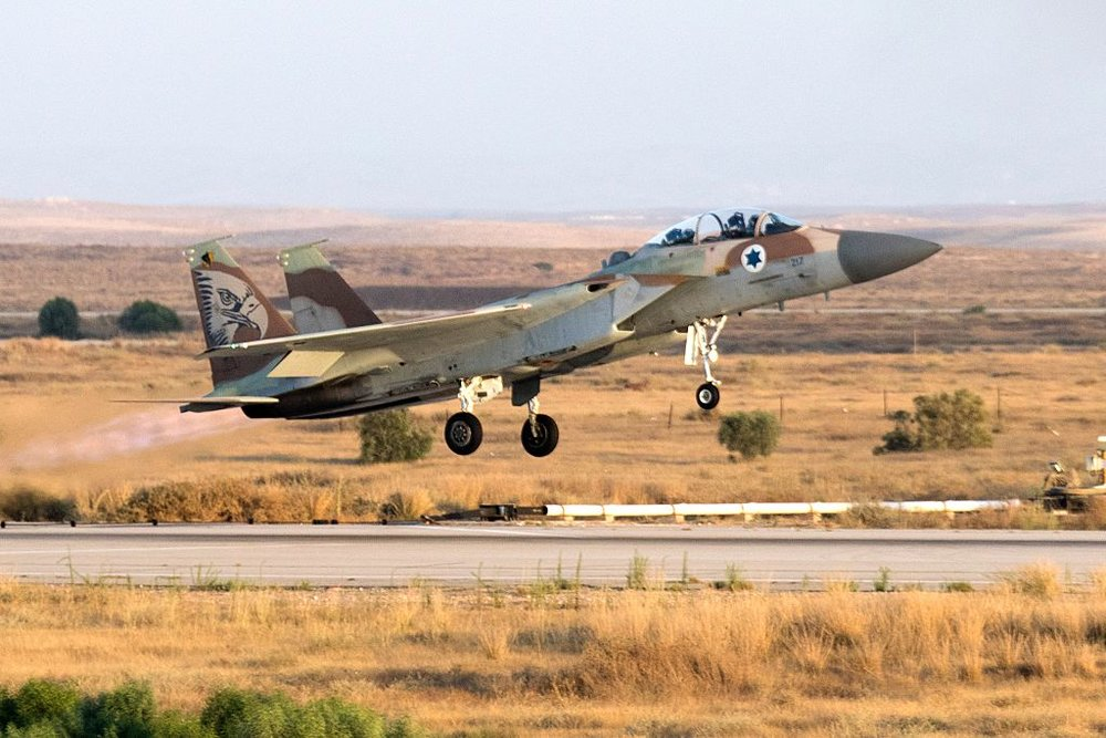 An Israeli Air Force fighter jet. Credit: Getty Images.