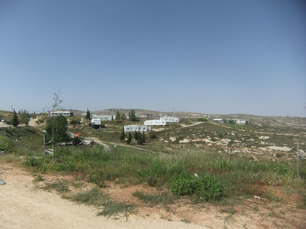 The Jewish community of Amona. Credit: Wikimedia Commons.