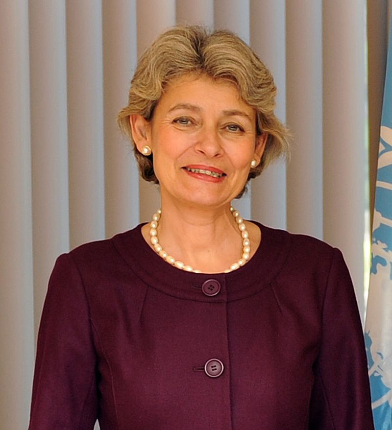 UNESCO Director-General Irina Bokova. Credit: UNESCO.