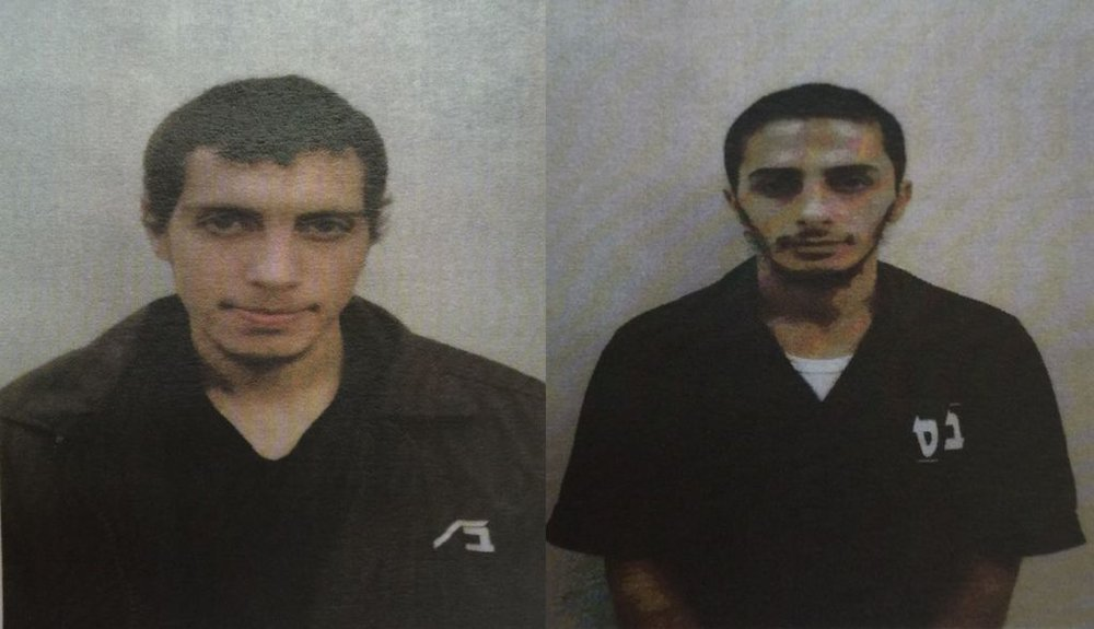Amir Jabarah (left),and Ibrahim Abdel Halim Sheikh Yusuf,alleged members of an Islamic State terror cell from the Israeli Arab village of Taybeh. Credit: Shin Bet.