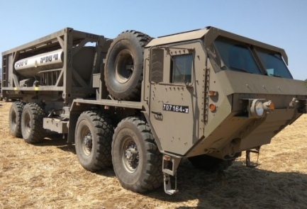 The Camel II water delivery system. Credit: IDF Spokesperson's Unit.