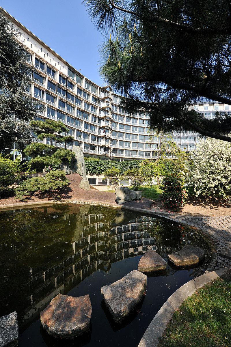 UNESCO headquarters in Paris, France. Credit: Wikimedia Commons.
