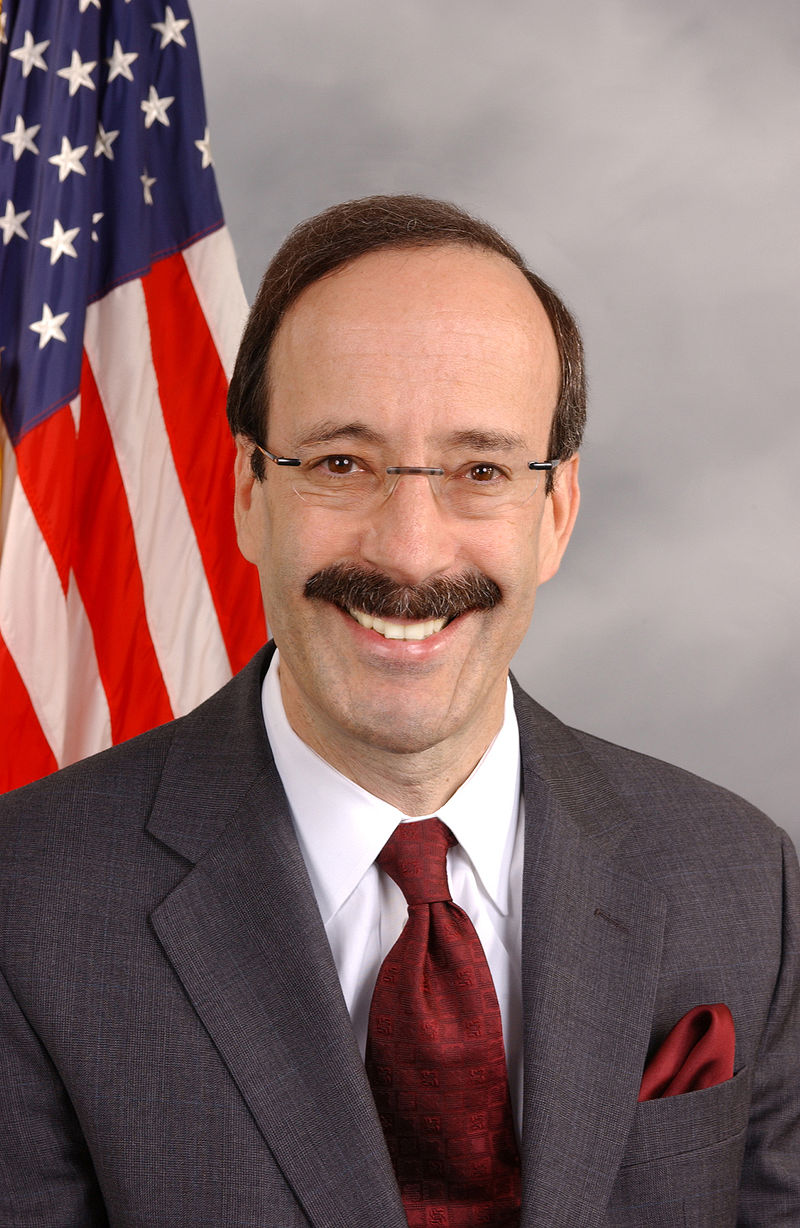 U.S. House of Rep. Eliot Engel (D-NY), author of the Caesar Syria Civilian Protection Act of 2016. Credit: Wiki Commons.